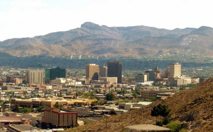 The beautiful El Paso skyline