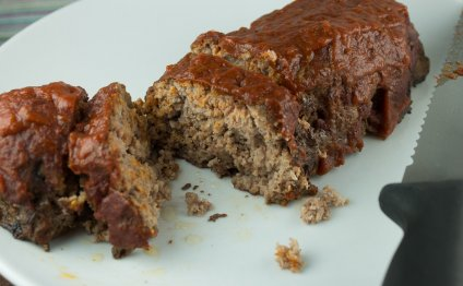 Paleo Meatloaf with Tomato
