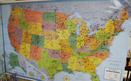 News King Ranch Map