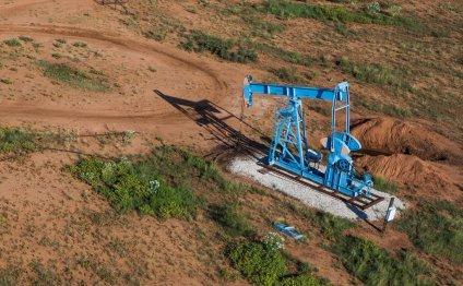 Oil rig Waggoner Texas