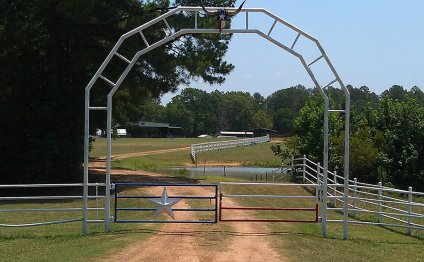 Entrance to The Red Bull Ranch