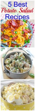 5 of the BEST potato salad meals for the summer time picnics. Impress your family and friends at your following meet up with one of these unique recipes!