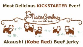 Akaushi (aka Kobe Red) Beef Jerky OMG tasty! project video clip thumbnail