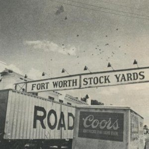 Cowtown: over 100 million cattle have actually passed away through stockyards since 1876.