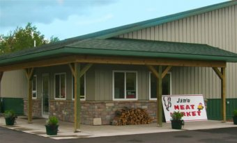 Jim's Meat Market Iron River, Wisconsin