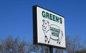 Greens Meat Market Texas