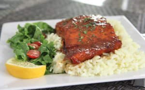 Salmon recipes with Teriyaki sauce