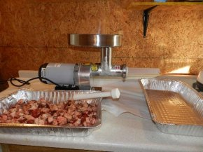 Sausage generating Workstation