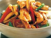 Teriyaki Chicken Stir fry recipe with noodles